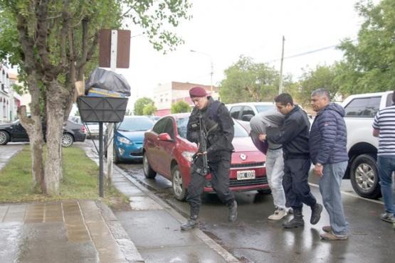 Etchebarne arribó a Río Gallegos el pasado 9 de diciembre, luego de ser capturado en Buenos Aires donde residía. (Foto: C.R.)