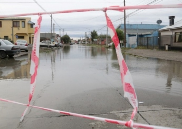 Las lluvias afectaron los prmeros días deñl 2017. (Archivo)