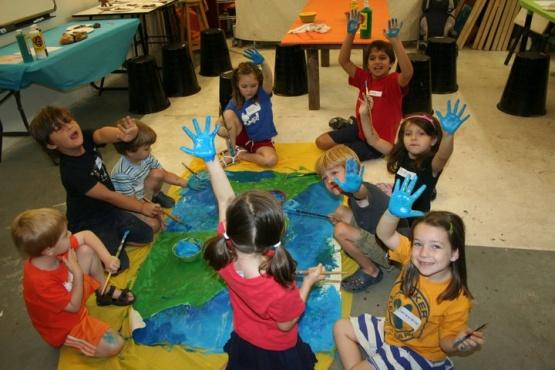 Los talleres infantiles de verano pasan por el arte y la expresión corporal