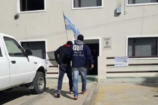 Trasladaron a uno de los detenidos por los allanamientos realizados días atrás