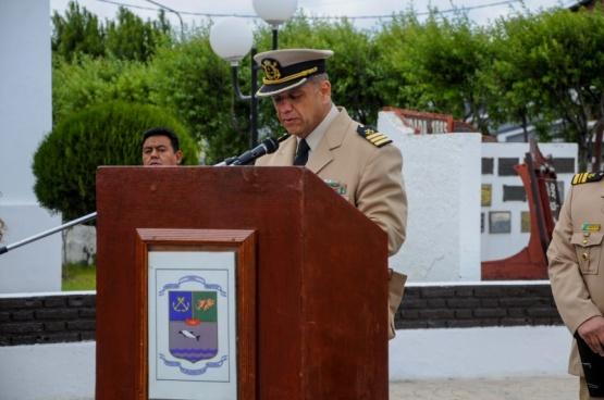 Recordaron a tripulantes del ARA San Juan en acto de Prefectura