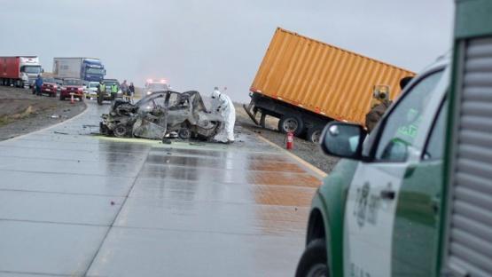 Sigue detenido el camionero del accidente fatal cerca de Monte Aymond