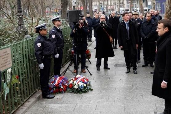 Realizaron un homenaje a tres años del atentado a Charlie Hebdo en Francia