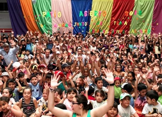 Más de 500 chicos concurren a Patio Abierto