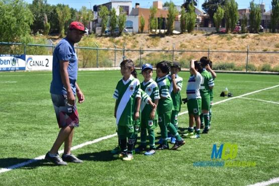 Comenzó el Torneo Infantil de Fútbol Interbarrial
