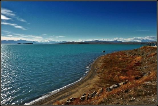 Dos adolescentes fueron rescatadas del Lago Argentino