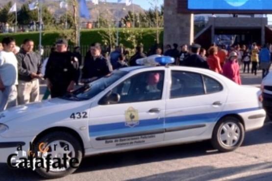 Operativo de Seguridad para la Fiesta del Lago Argentino