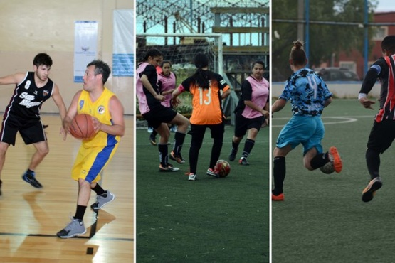 Fin de semana a puro fútbol y básquet