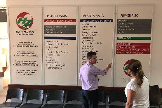 Regularizan incompatibilidades laborales en el Hospital Zonal Caleta Olivia