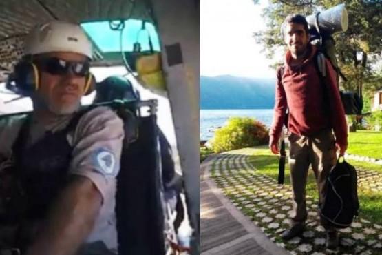 Con helicópteros y drones buscan al turista desaparecido