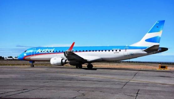 Aerolíneas desprogramó los vuelos a Ushuaia desde mayo