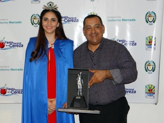 La 1º Princesa Nacional del Carbón en las celebraciones de Los Antiguos