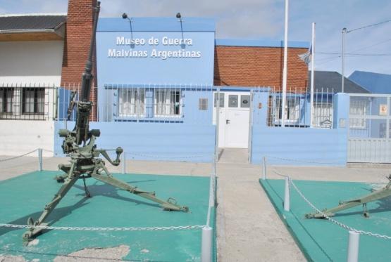El Museo de Guerra Malvinas Argentinas recibe la permanente visita de turistas