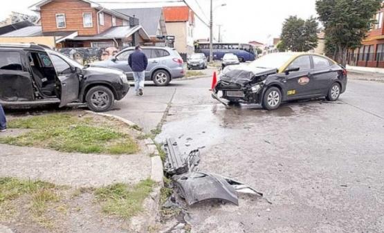 Escenario del accidente. (La Prensa Austral)