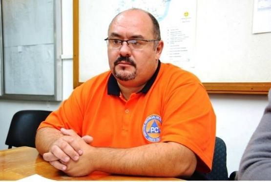 Diego Farías, director provincial de Protección Civil. (Foto: C.R.)
