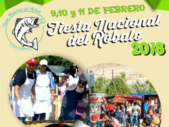 Puerto Santa Cruz se prepara para la Fiesta del Róbalo
