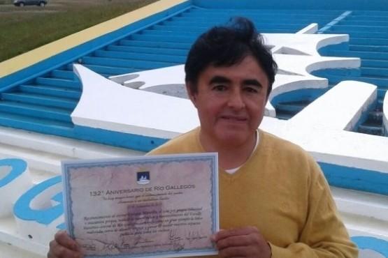 Enrique Mansilla restaurará el monumento en el Paso Integración Austral