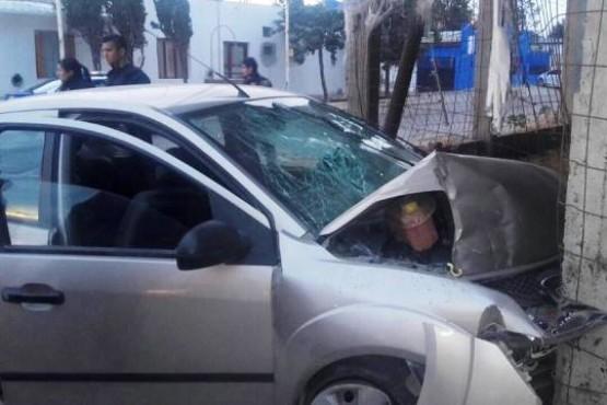 Grave accidente: todos los ocupantes en estado de ebriedad