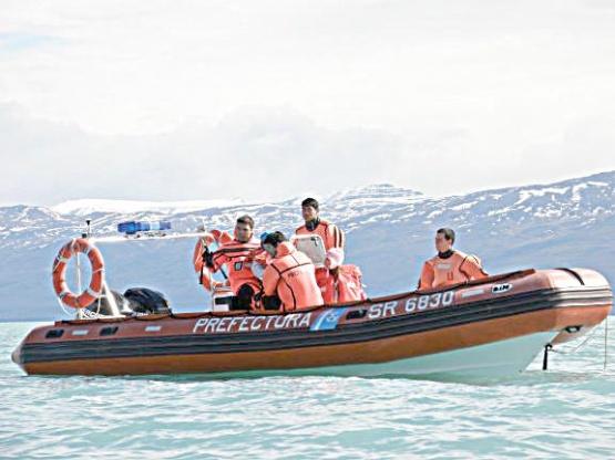 Murió kayakista en el Lago Argentino