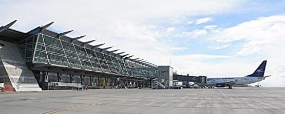 Es uno de los aeropuertos con más tráfico de pasajeros pero sufrió una fuerte baja