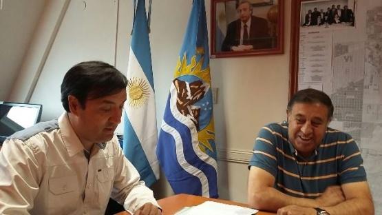 IDUV firmó convenios con el Municipio de El Chaltén