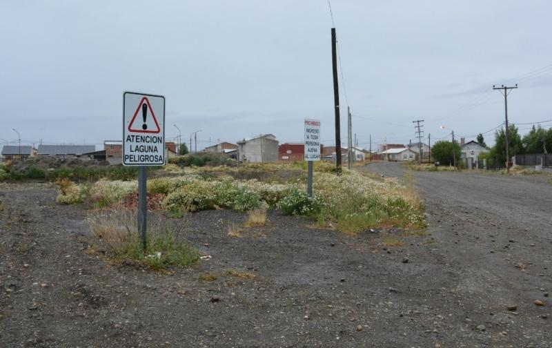 Uno de los accesos al lugar. (C.R)