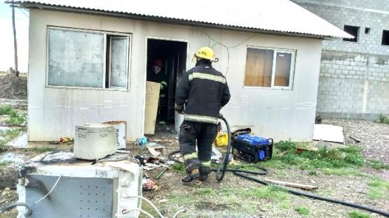 Falla en lavarropas provocó un principio de incendio