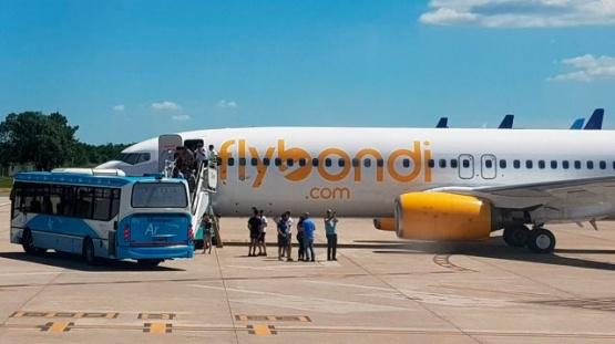Un vuelo de Fly Bondi tuvo que hacer un aterrizaje de emergencia por una falla técnica