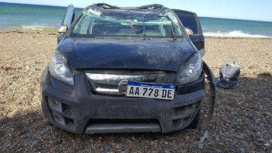 """Le robaron el auto y se lo """"tiraron"""" a la Playa"""