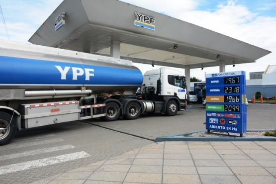 Aumentos en los precios de combustibles