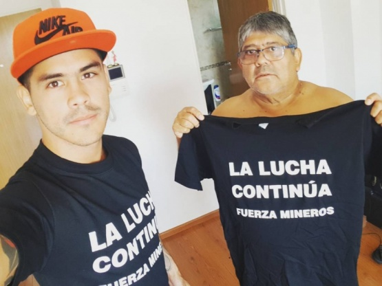 """El """"Chuky"""" Verón se solidarizó con los despedidos en YCRT"""