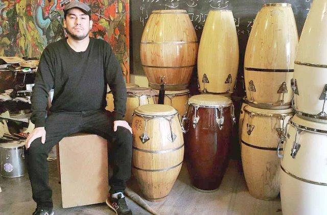 Cristian Borden, integrante y referente del grupo.
