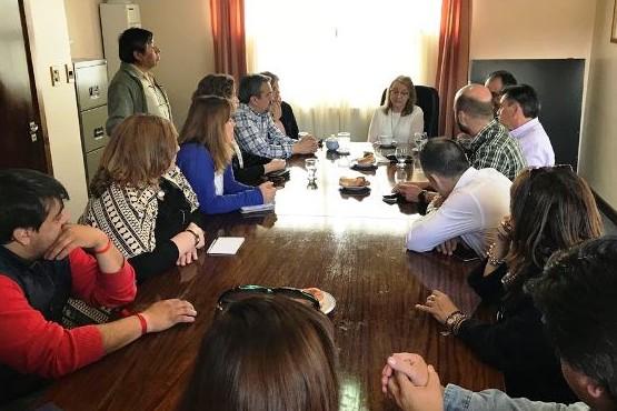 La Gobernadora Alicia Kirchner se encuentra en 28 de Noviembre