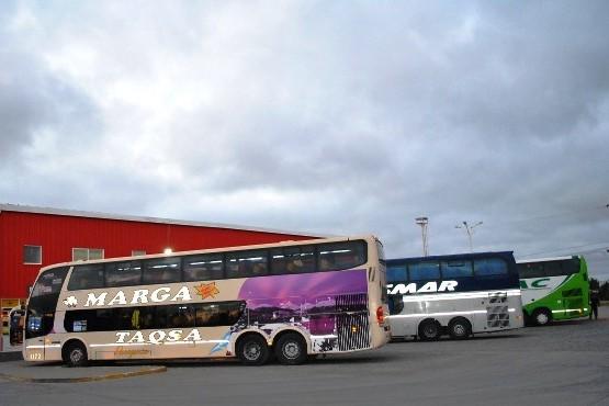 Transporte provincial efectúa permanentes controles en terminales y rutas