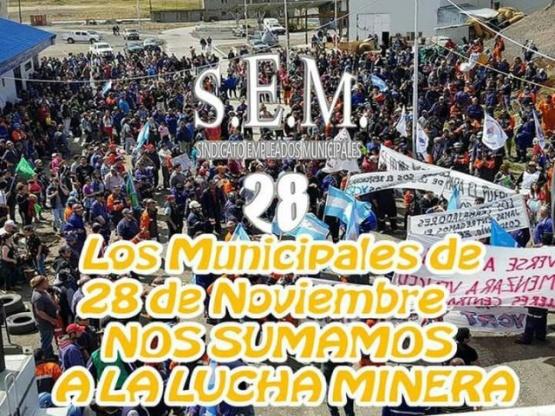 El SEM realiza colecta de alimentos para los mineros