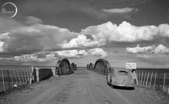 Recordaron la construcción del puente de Güer Aike