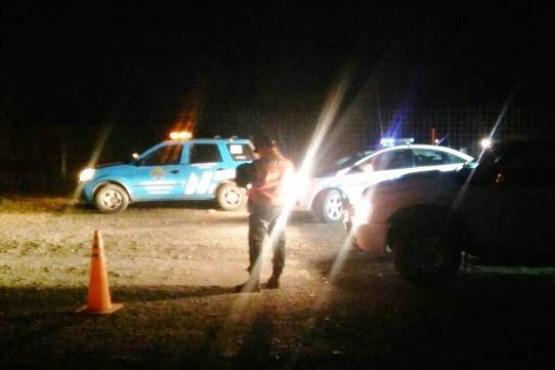 Actas de infracción y secuestro por alcoholemia en control de tránsito