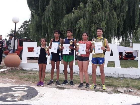 Nicolás Martínez se adjudico los 10 km de marcha en ruta en la atura de Famatina