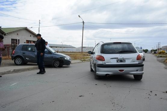 Vuelco sin heridos en Juan de Garay y Junín