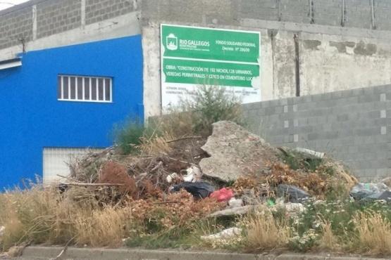 Denuncian presencia de roedores en inmediaciones del Cementerio