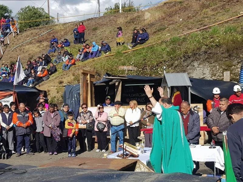 Hubo misas en la Cuenca.