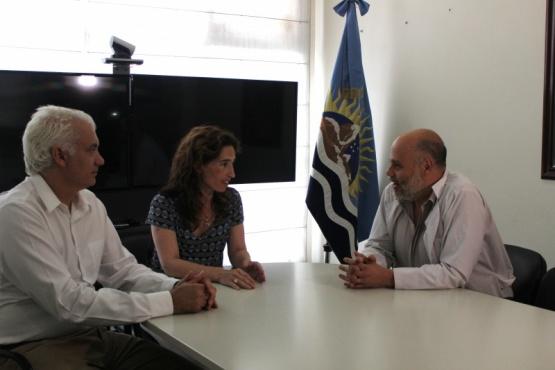 Reunión con la Ministra de Salud.
