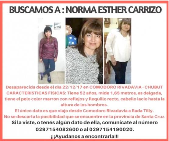 Ella es Norma Carrizo, de 52 años