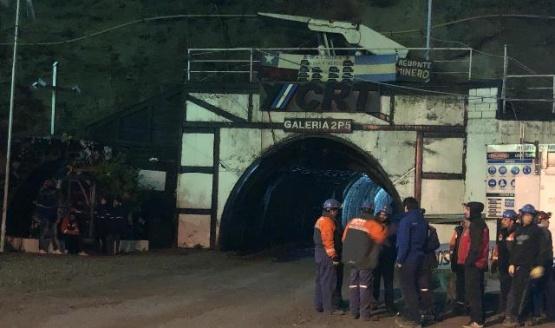 Mineros habrían ingresado a la mina para pedir una solución a los despidos