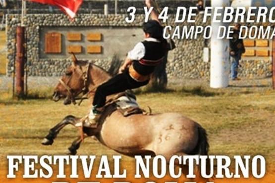 Comienza el Festival Nocturno de Doma de la Fiesta Nacional del Lago