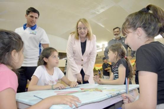 Alicia participó de las actividades de verano en el CePARD