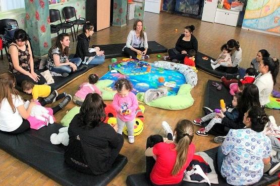 """""""Crianza en Tribu"""" desarrolla sus actividades en el Centro de Atención Infantil"""