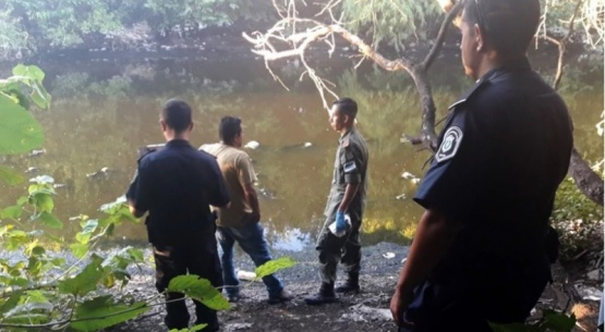 Encontraron un cuerpo y se trata de una mujer con rasgos orientales