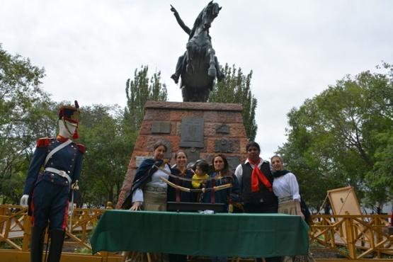Se conmemoraron 205 años del Combate de San Lorenzo