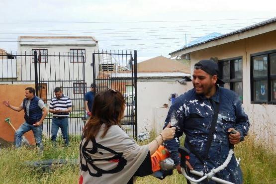 Autoridades de IDUV y Educación recorrieron edificios escolares de Río Gallegos